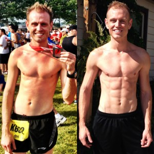 Before/aftter CrossFit Peoria & Paleo